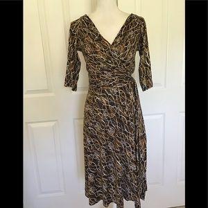 Diane von Furstenberg silk wrap dress Penna 8